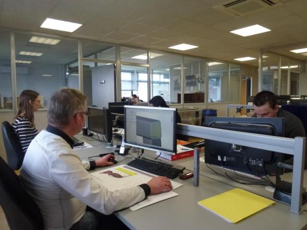 Un de nos bureaux d'études basé à Pulversheim (68)